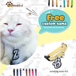 Jual K16 Kalung Custom Nama Kucing Anjing Free Lonceng Aksessoris S Kab Nganjuk Kalungkucing Tokopedia
