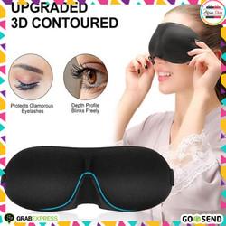 Kacamata Tidur 3D Soft Sleeping Googles Penutup Mata Tidur