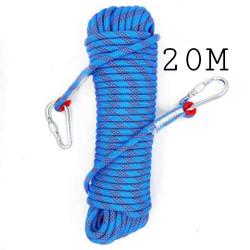 tali karmantel panjat tebing - rappeling climbing rope 10mm X 20 meter