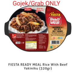 Frozen Fiesta Ready Meal Rice With Beef Yakiniku 320gr