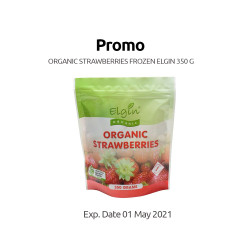 Elgin Organic - Frozen Strawberries - 350 g