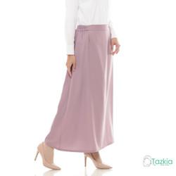 Bawahan Muslim Wanita | Basic Skirt Ungu | Rok Polos | Tazkia Hijab - Ungu