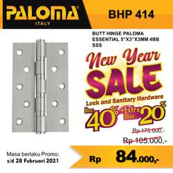 "Engsel Pintu Paloma Stainless BHP 414 (5""x3""x3mm)"