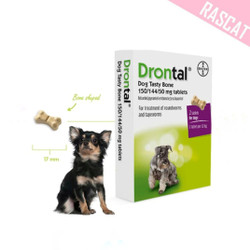 Drontal Dog Plus Flavour Obat Cacing Anjing