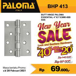 "Engsel Pintu Paloma Stainless BHP 413 (4""x3""x4mm)"