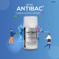 Trapo Oxtra Antibac Car Spray Bunuh 99.9% Virus & Bakteri-Clear Quartz