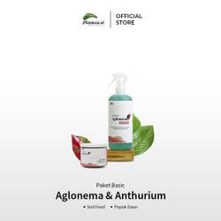 Paket Basic Aglonema Pupuk Daun Aglonema dan Soil Food Aglonema