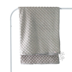 Dot Minky Blanket Thin Toddler - Baby Loop - BabyLoop