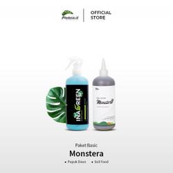 Paket Basic Monstera Pupuk daun dan Soil Food Monstera