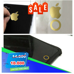 Stiker logo Apple iPhone 6 s 7 home button sticker keren berkualitas