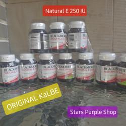 blackmores natural e 250 iu original kalbe vitamin e 250iu isi 50