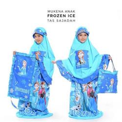 Mukena Frozen Ice Tas Sajadah / Mukenah Anak Motif Karakter Frozen