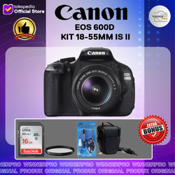 CANON EOS 600D KIT 18-55MM IS II CANON 600D (PAKET LENGKAP)