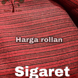 multi kain koko gamis sigaret polyester roll per 50 yard