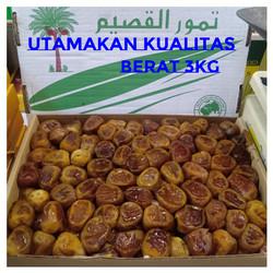 Kurma Sukari Basah 3kg