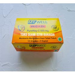 Vitamin C My Well 500 MG + Zinc 10 MG Per DUS BPOM MUI