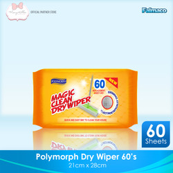 NEW!! Magic Dry Wipes/ Tisu kering/ Sapu Kering 60s