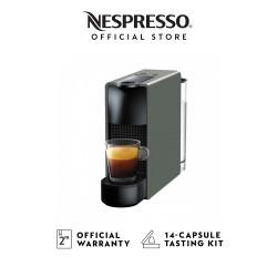 NESPRESSO Essenza Mini C30 Coffee Machine, Grey (Mesin Kopi)