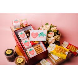 Hampers Valentine Coklat Bunga Kado Hadiah Custom Love Letter Box