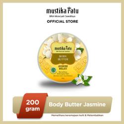 Mustika Ratu Body Butter Jasmine Melati 200gr Menghaluskan Kulit