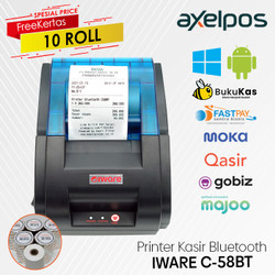 PRINTER KASIR BLUETOOTH C-58BT SUPPORT MOKAPOS GOBIZ