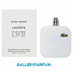 Lacoste Eau De Lacoste L 12.12 Blanc Pure For Men EDT 100ml (Tester)