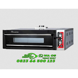 Oven Pizza Gas Luxury 1 Deck 2 Trays