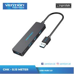 Vention High Speed USB 3.0 Hub for Windows Mac Linux - CHK 0.15 Meter