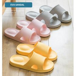SH03 Sandal Rumah Pria Wanita Ringan Empuk Anti Slip Slipper EVA Soft