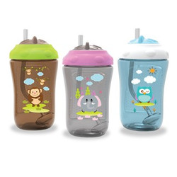 Baby Safe Sipper Cup with Weighted Straw