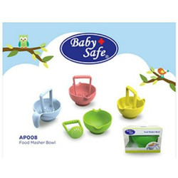 Baby Safe Food Masher Bowl