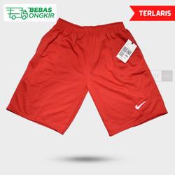 Nike plain merah lotto, jual Celana pendek kolor bola futsal basket