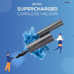 Trapo Oxtra Super Charged Cordless Car Vacuum - Hitam