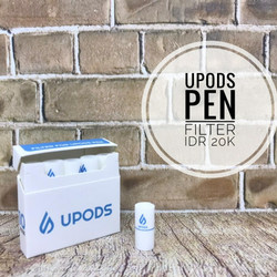 Upods Pen Filter Per Pack isi 10 Upod