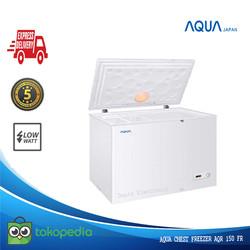 AQUA Chest Freezer 150 Liter AQF 150 FR Lampu Led Low Watt