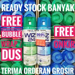 WIZ 24 Desinfektan Udara Ruangan AEROSOL 300 ml Air Disinfectant Spray