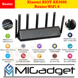 Xiaomi AIOT AX3600 Router WiFi 6 Speed 2976 Mbps Support 248 Device