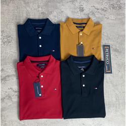 TOMMY H polo shirt kaos pria cowo baju berkerah ORIGINAL