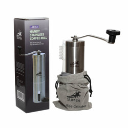 Gilingan kopi manual Latina Sumba handy coffee grinder