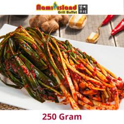 [ KIMCHI DAUN BAWANG ] 250gram paling enak di makan dengan ramyun