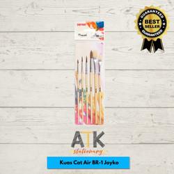 Kuas Cat Air Joyko Set 6/ Kuas Lukis/ Joyko Brush Set 6 BR-1 atk