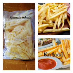 Kentang French Fries - Kentang Goreng 4,5 LB - Kentang Aviko