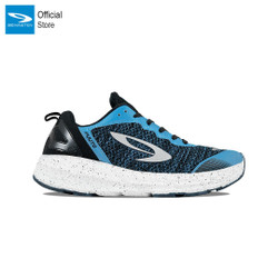 910 Nineten Fuuto Accel Sepatu Lari - Biru Hitam Putih - 43
