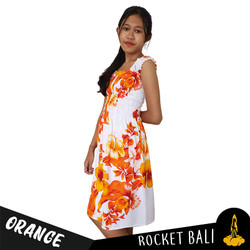 Dress Hawai Anak Floral Terbaru - Dress Pantai Remaja Motif Bunga Tren