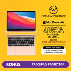 New MacBook Air 2020 13 inch M1 Chip 8 Core CPU/ 7 Core GPU/ 256GB SSD - Gold
