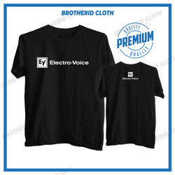 Kaos Electro Voice Audio Baju Operator Sound System Electro-Voice