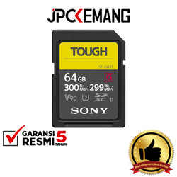 Sony 64GB SF-G Tough Series UHS-II SDXC Memory Card GARANSI RESMI
