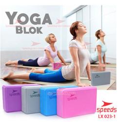 Balok Yoga Bantal Bantalan Brick Block Yoga Pilates Polos EVA 023-01