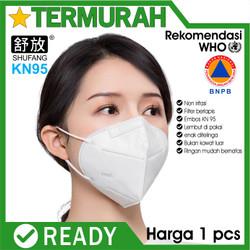 MASKER N95 KN95 ANTI VIRUS 5 PLY sertifikat ada surgical KN N 95 mask
