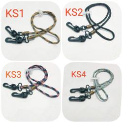 tali gantungan masker paracord